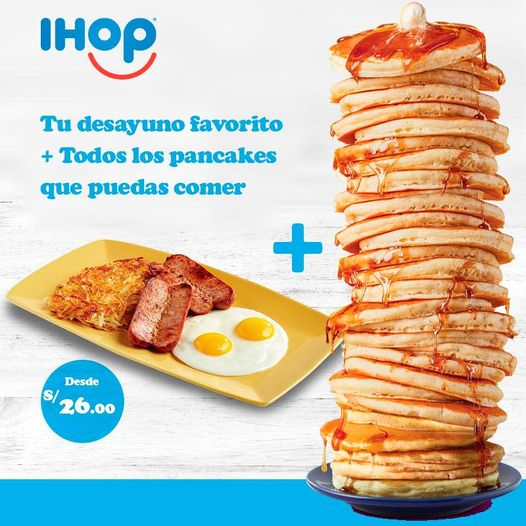 IHOP Peru All You Can Eat Pancakes