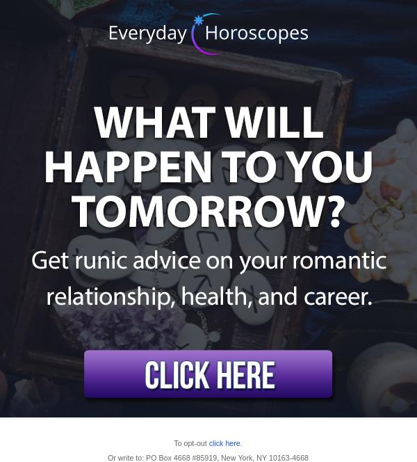 Everyday Horoscopes Display Ad